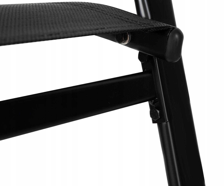 Meble na Balkon Ogród Taras Komplet Stół 2 Krzesła Liczba elementów w zestawie 3