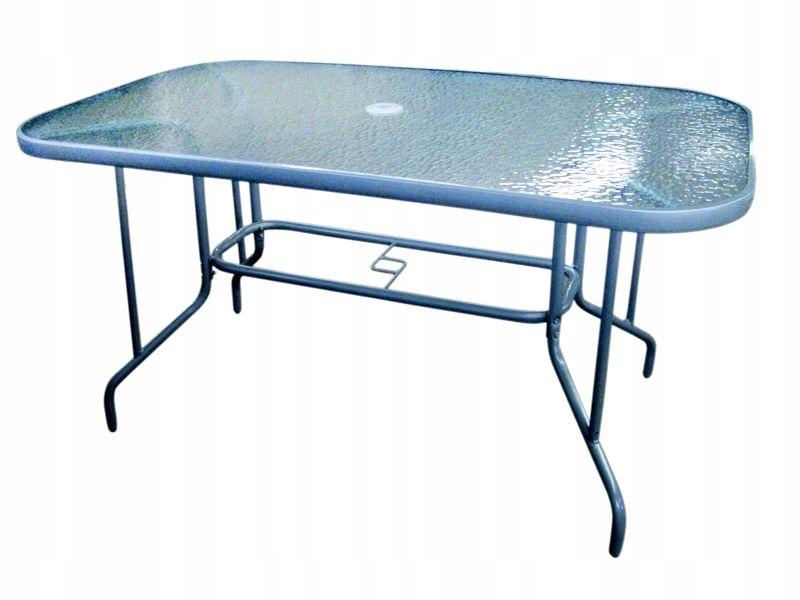 Садовый стеклянный стол 110x70 см MILANO