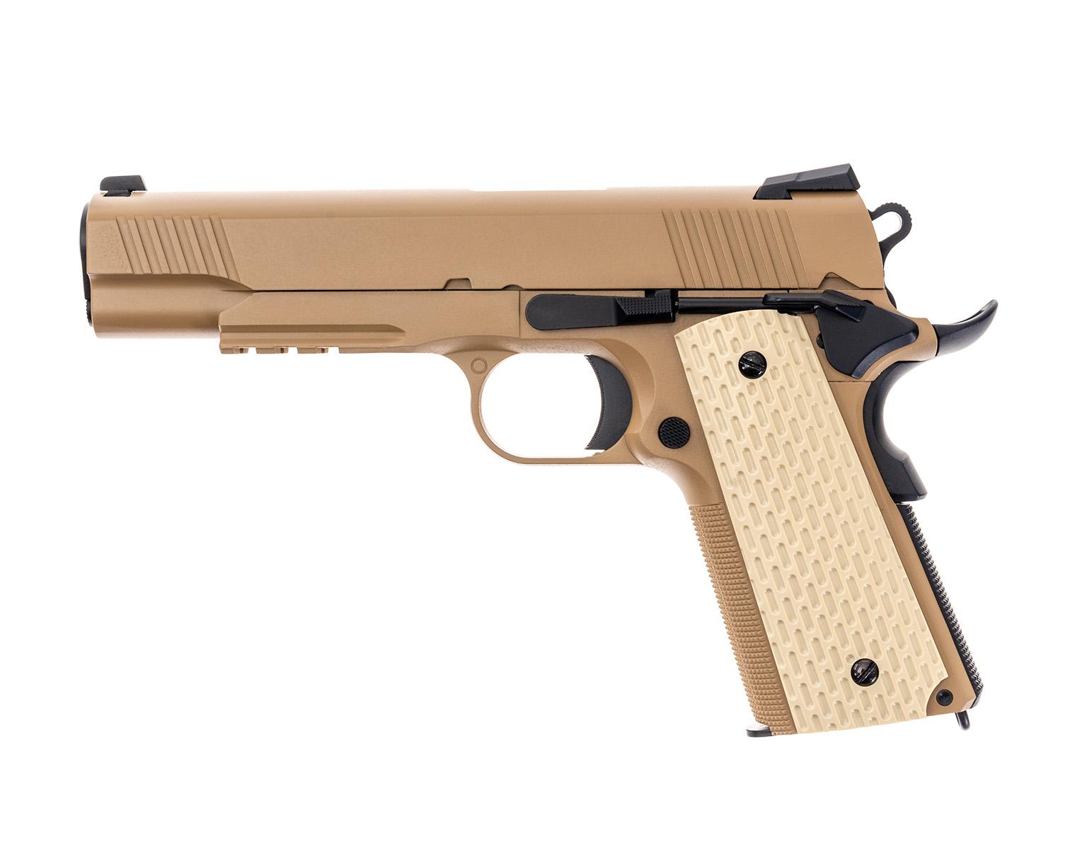 Pištoľ GBB SME 1911 Kimber tan