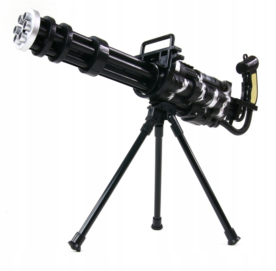 RIFLE MiniGun Light Sound Toy 55 cm M134