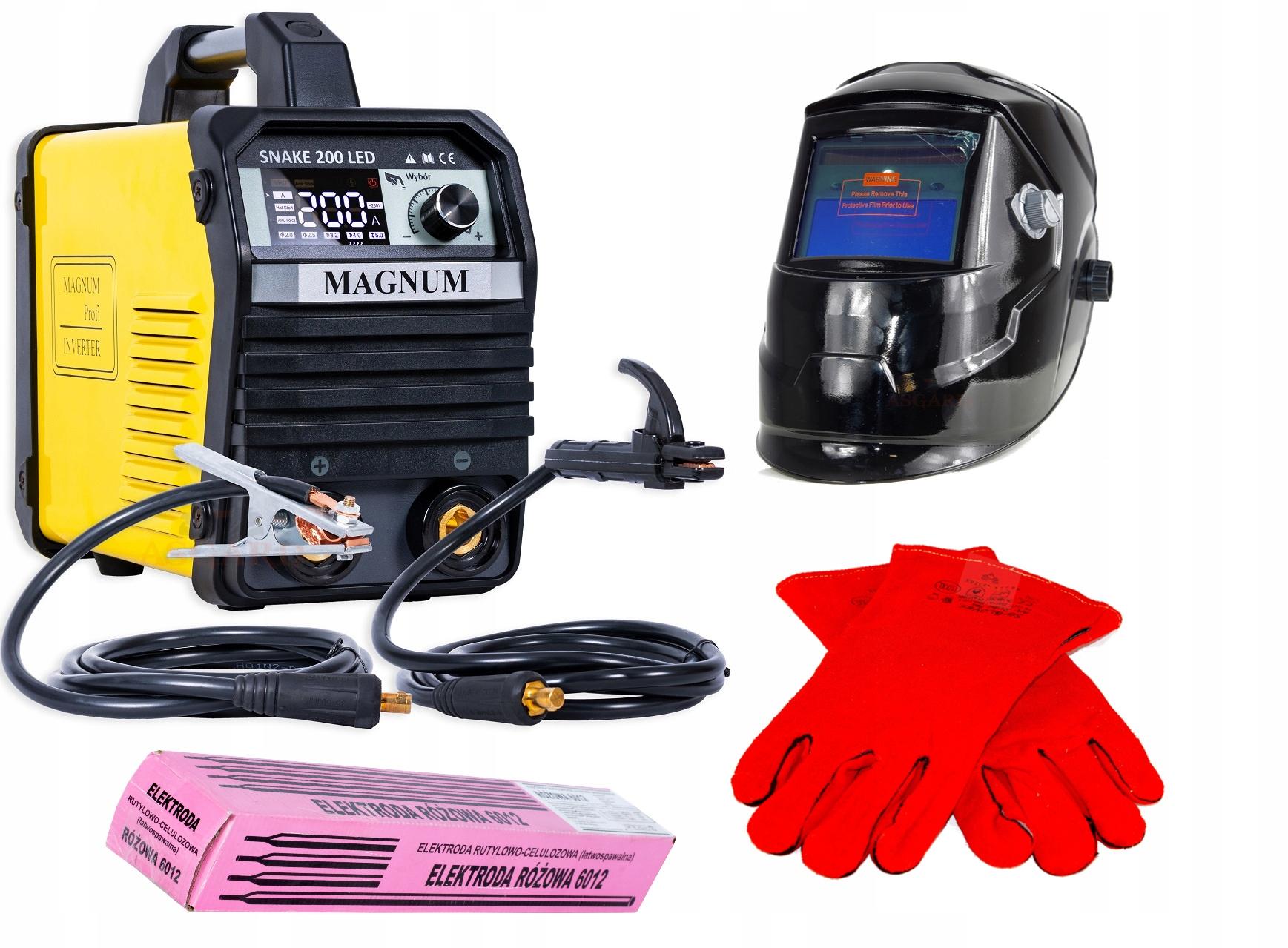 Купить Профессиональный сварщик электродов SNAKE 200 LED на Otpravka - цены и фото - доставка из Польши и стран Европы в Украину.
