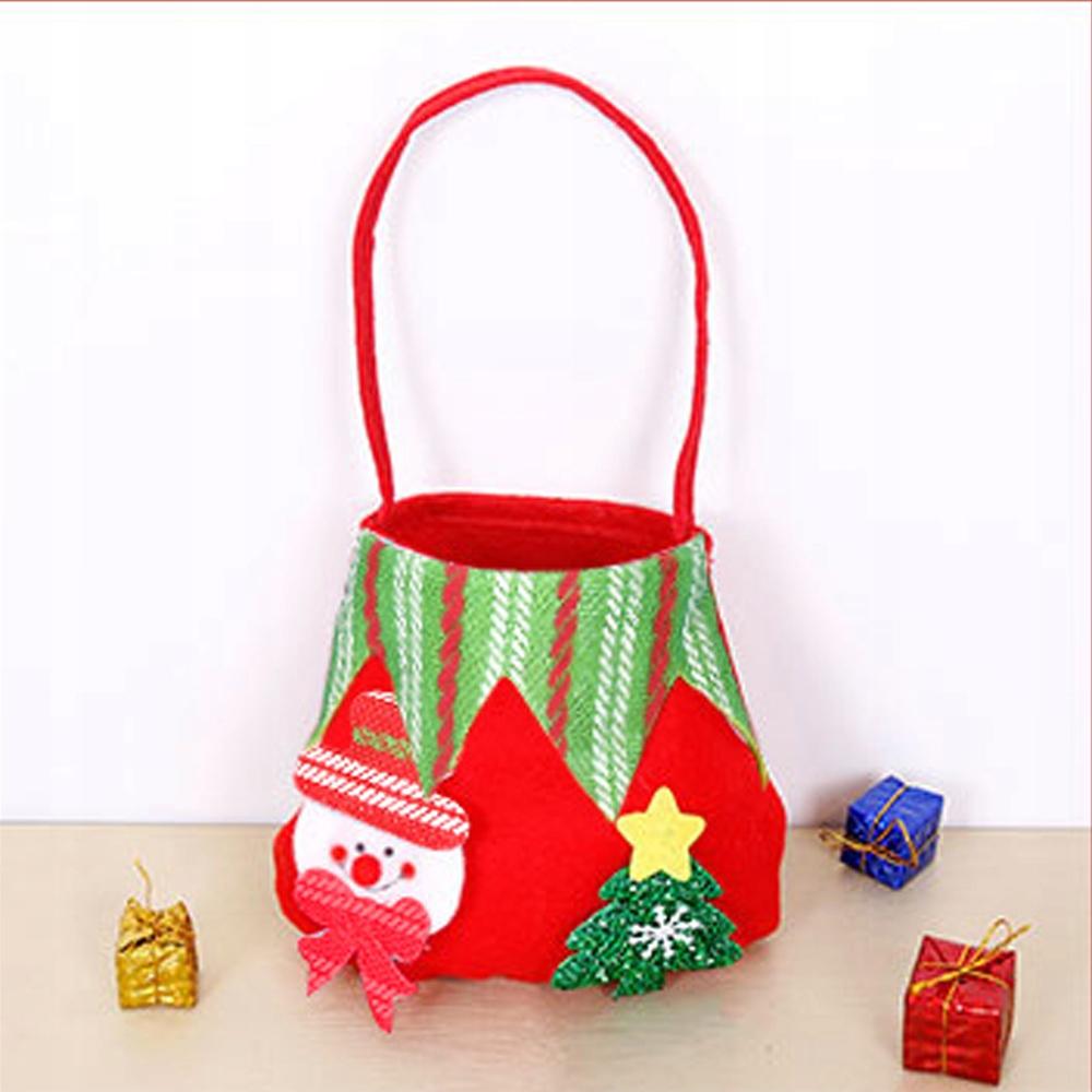Креативный рождественский подарочный пакет для детей