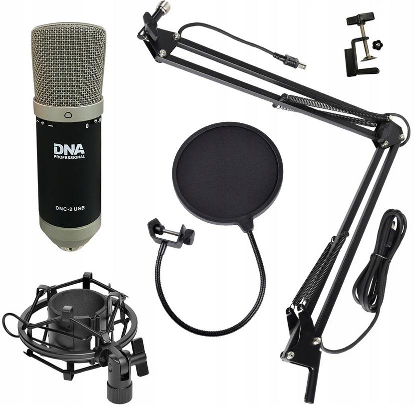 DNA DNC-2 USB SM конденсаторный микрофон с корзиной