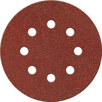 Шлифовальный диск на липучке, корунд 125 мм K 40 FORTIS