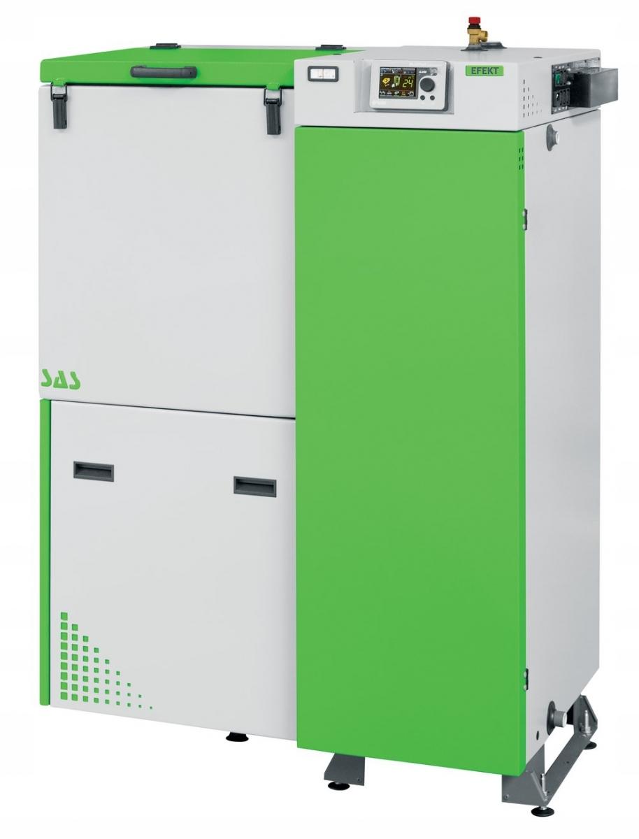Kotol na uhlie SAS Efekt s výkonom 23 kW a ekologickým hráškom do 250 m2