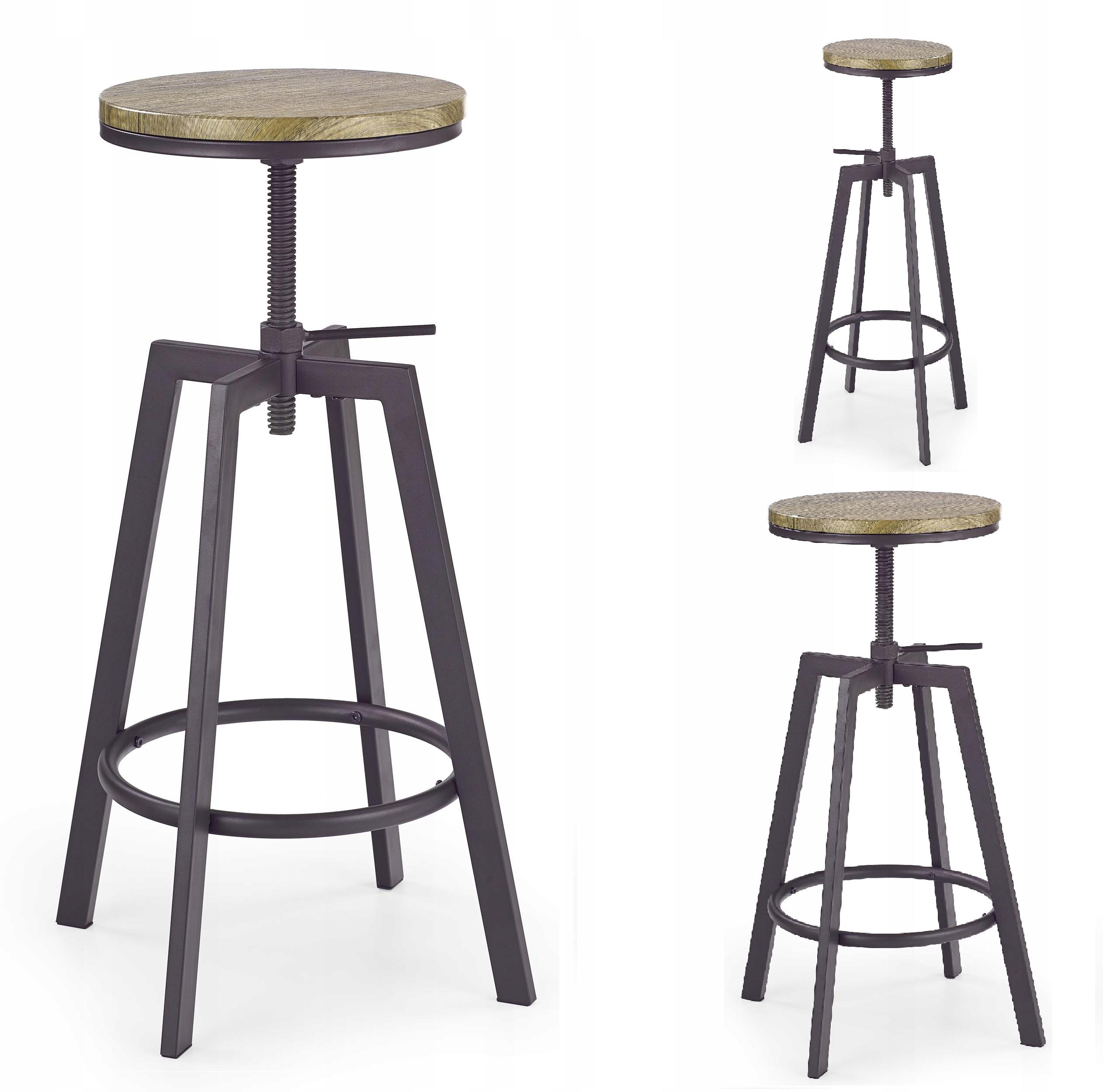 Барный стул KB64 Hoker Loft в индустриальном стиле