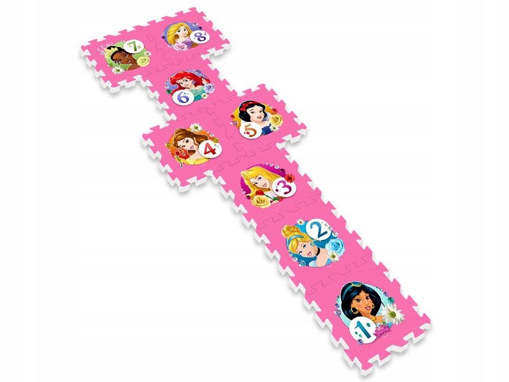 Puzzle piankowe Disney Princess mata 31x31 ZA3154 Materiał Pianka