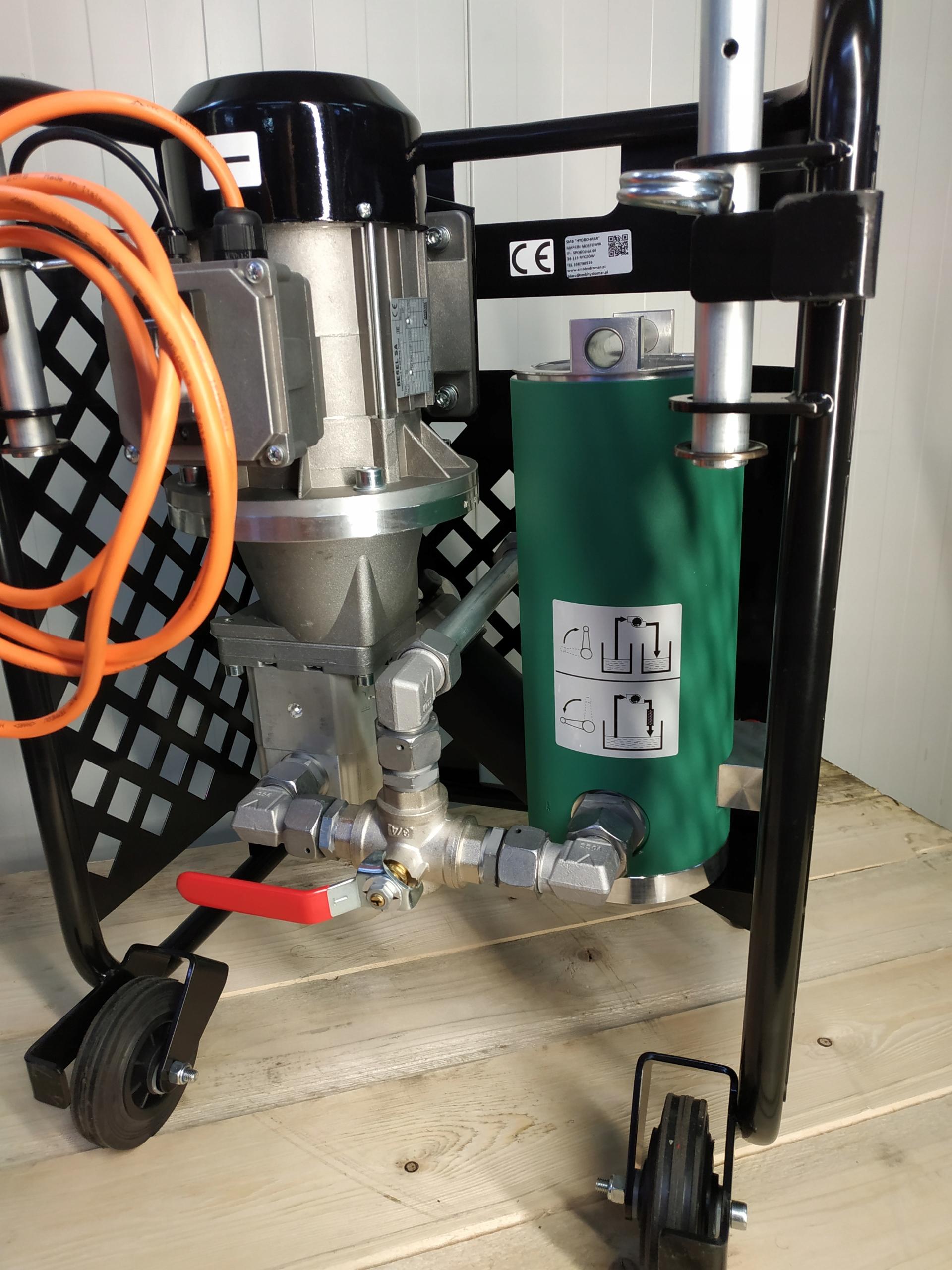 Agregat filtracyjny urządzenie filtrujące MAR1-017