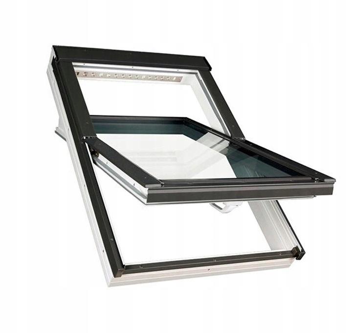 Мансардное окно 3-х оконное FAKRO PTP-V U4 78x140