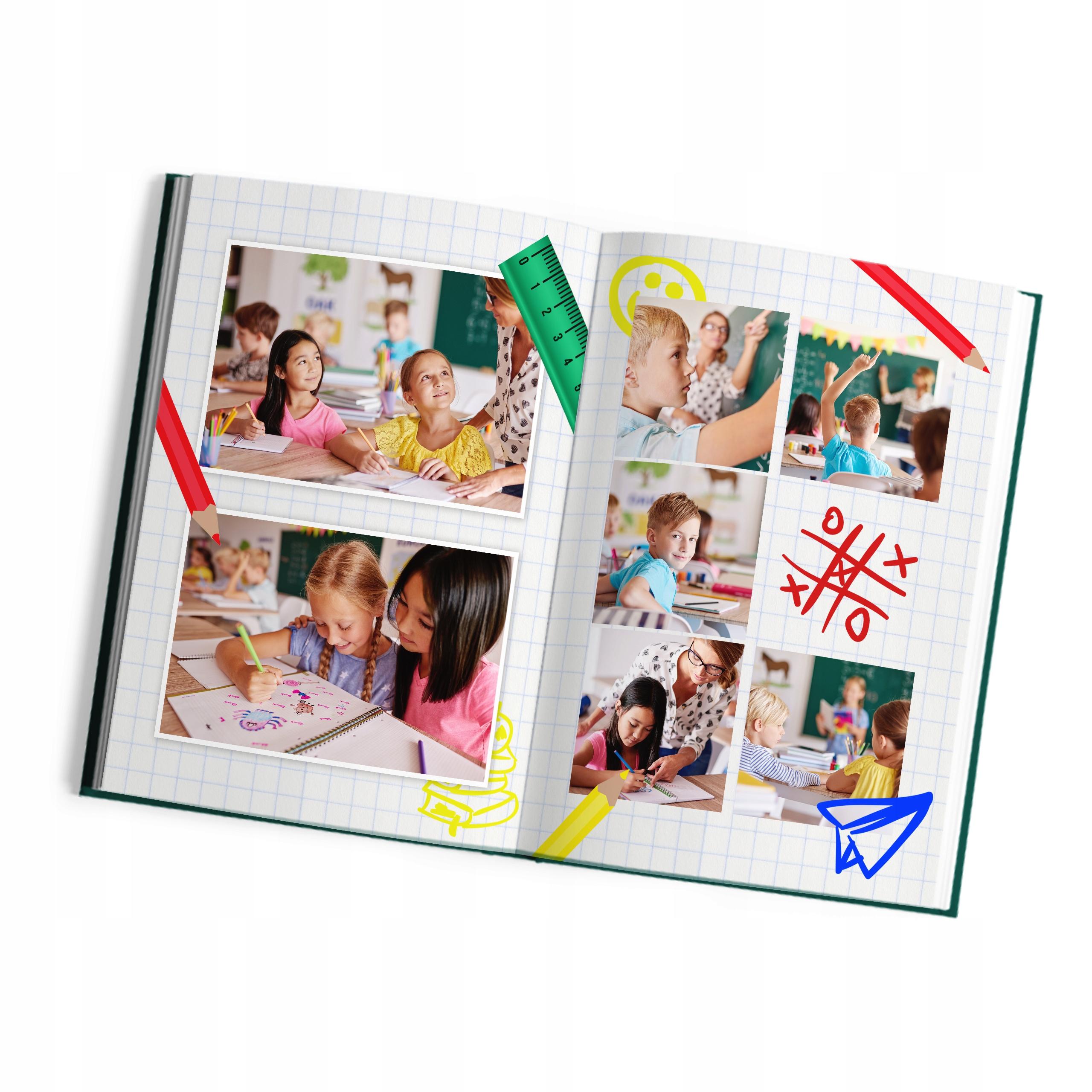 Foto-książka A4 pion 60str album Oprawa Twarda