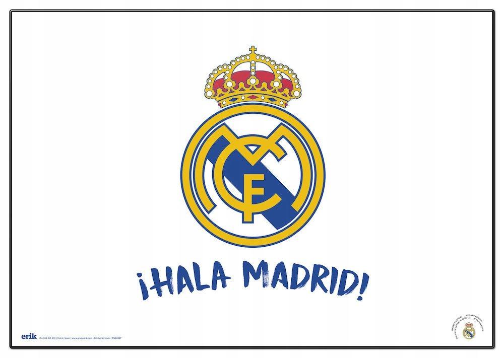Купить Real Madrid Hala Madrid herb podkładka na biurko на Otpravka - цены и фото - доставка из Польши и стран Европы в Украину.