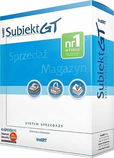 Купить ВСТАВИТЬ систему продаж Subiekt GT 3 стойки FV на Otpravka - цены и фото - доставка из Польши и стран Европы в Украину.
