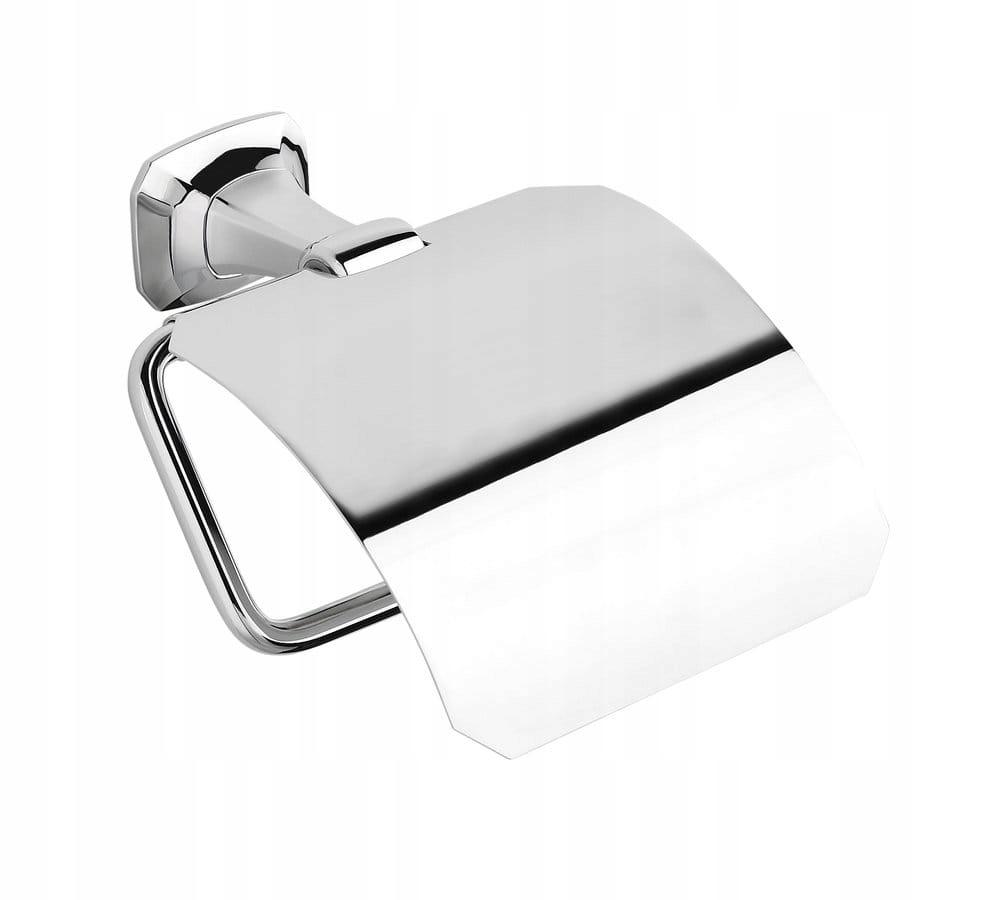 Na toaletný papier s krytom držiak chrome HADES