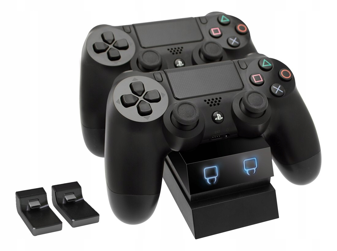 Item CHARGER docking STATION 2x CONTROLLER PAD for PS4 LED