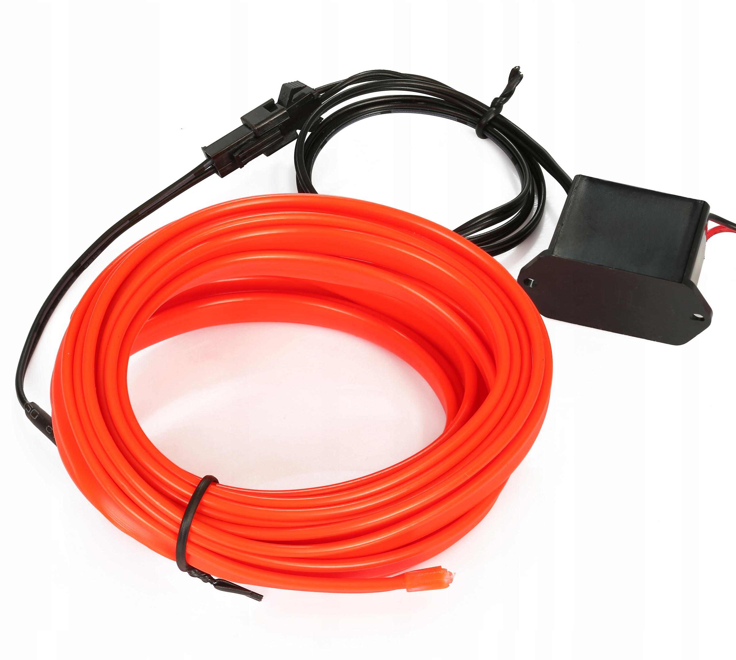 2m Волоконно-оптический кабель el wire лента ambient панель как led