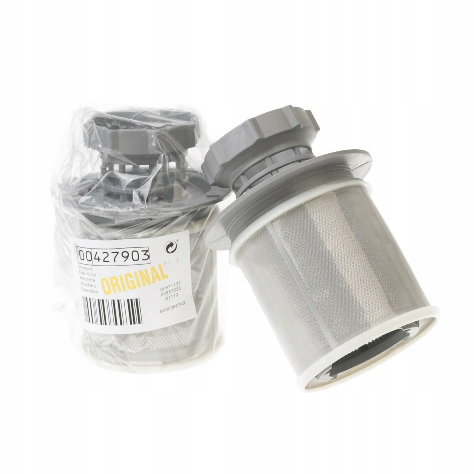 Фильтр для посудомоечной машины + сетчатый фильтр Siemens Bosch original