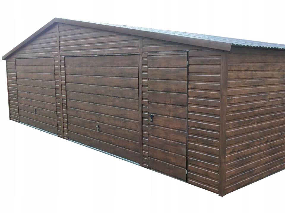 Стальной гараж 9,5х5
