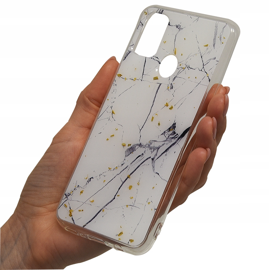 Etui do Samsung Galaxy M21 Case Wzór + Szkło 9H