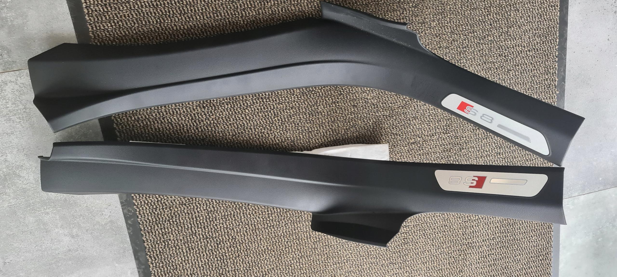 планки пороги накладки s8 d4 сзади lift компл