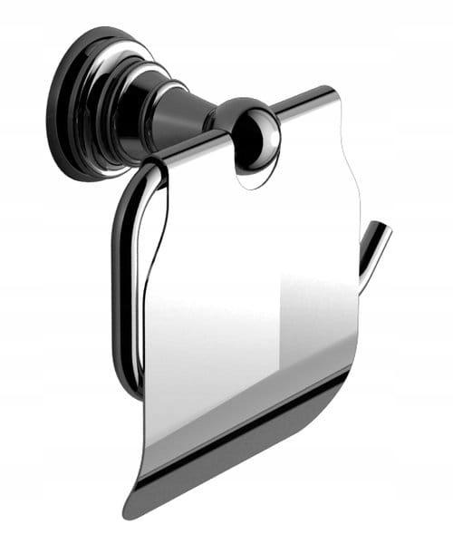 DIAMOND toaletný papier police s krytom retro