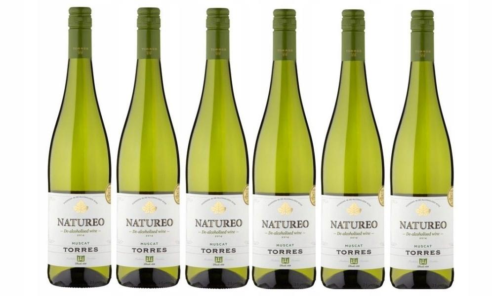 Испанское вино Natureo Muscat Wine 0%, набор из 6 вин