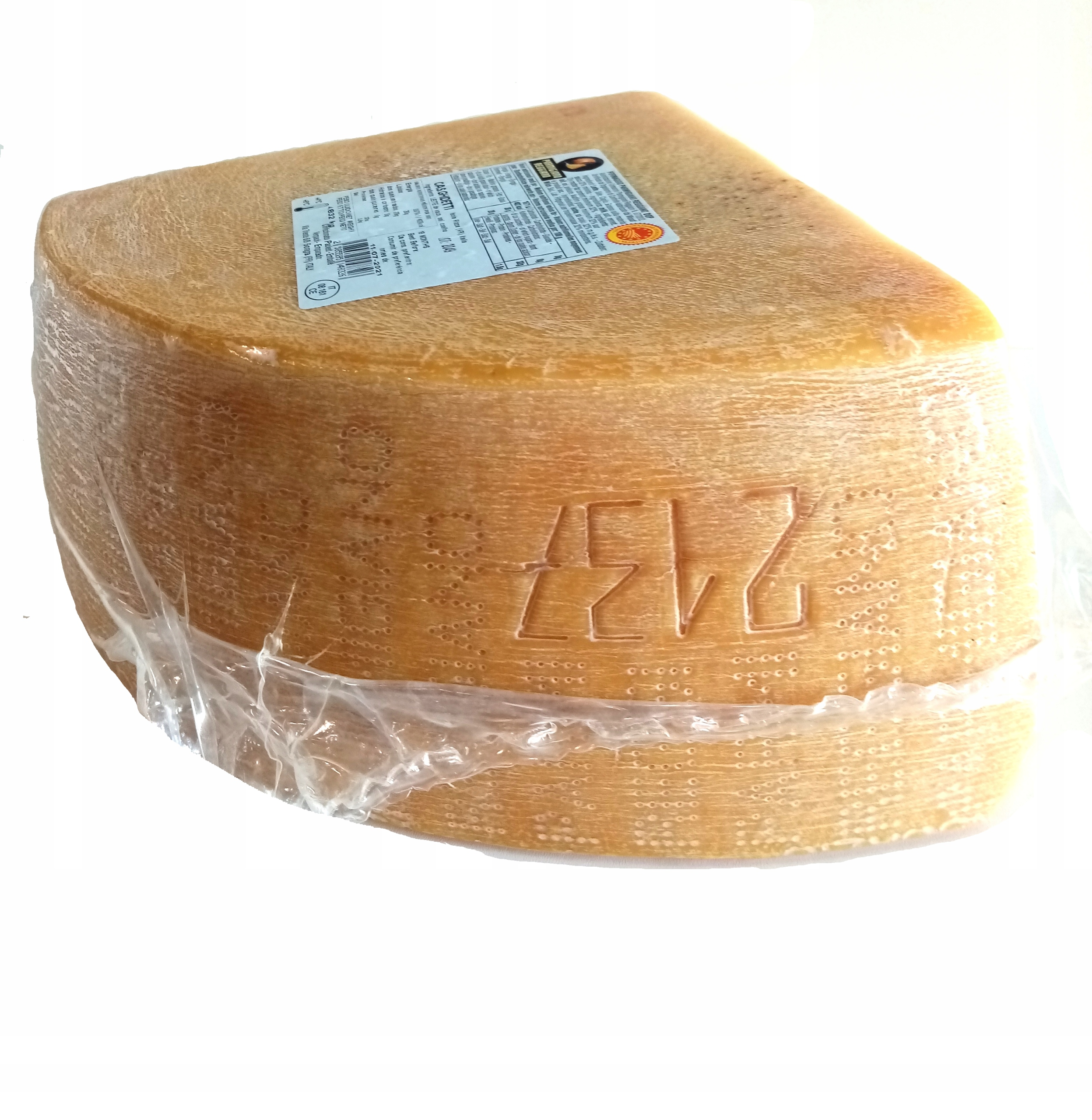 Parmezan Parmigiano Reggiano D.O.P. 5,080 kg