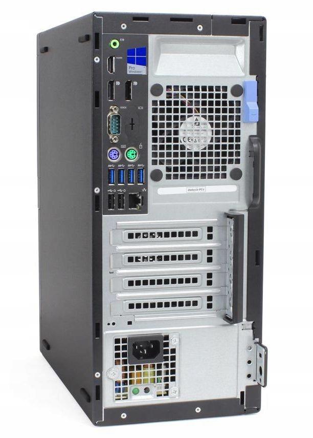 Dell Optiplex 7040 tower i5-6500 16 256 M2+500 W10 Marka Dell