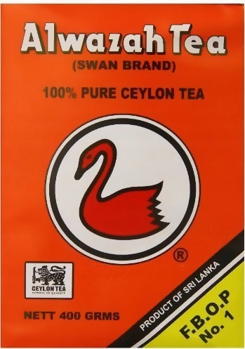 Чай CEJLOŃSKA, рассыпной 400г Alwazah Tea Swan