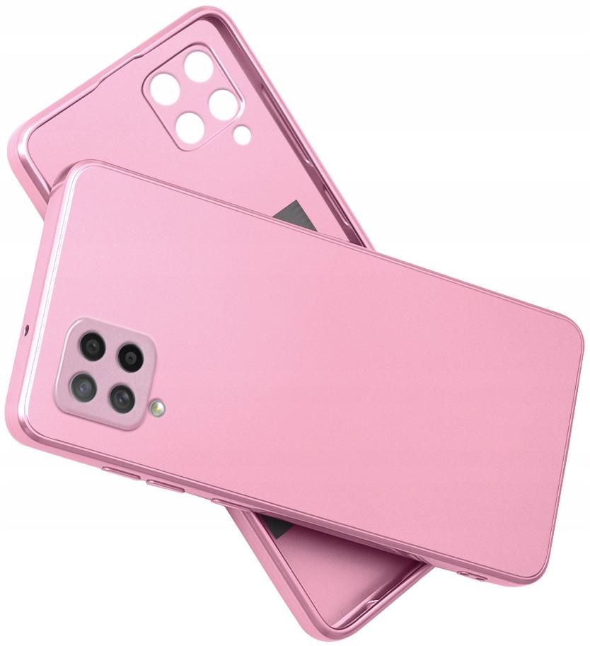 Etui do Samsung Galaxy A42 5G SILIKON CASE + SZKŁO
