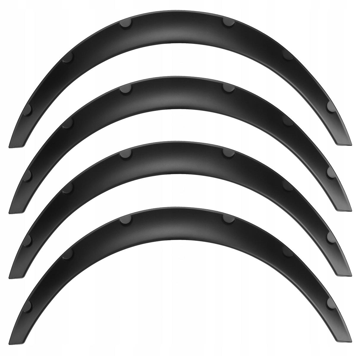 4x накладки защитные колесных арок расширения крыльев