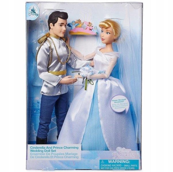 KOPCIUSZEK i KSIĄŻE ZESTAW LALEK WESELE DISNEY Bohater Disney Księżniczki