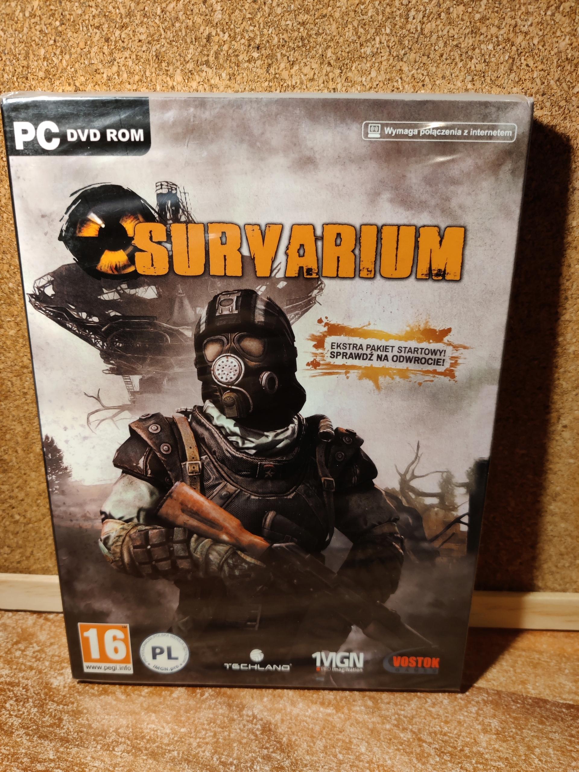 survarium PC retro hry klasická jedinečná hra (fólia)