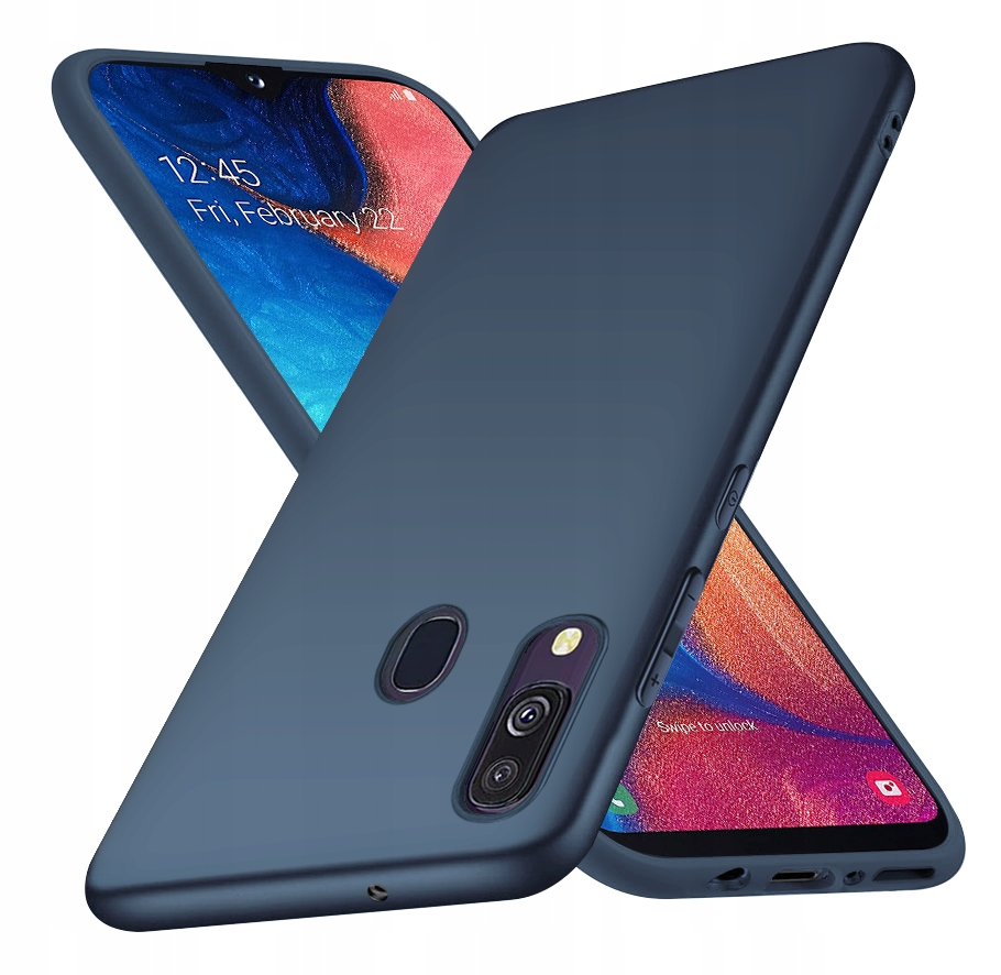 ETUI CASE MATT + SZKŁO 9H do Samsung Galaxy A20E