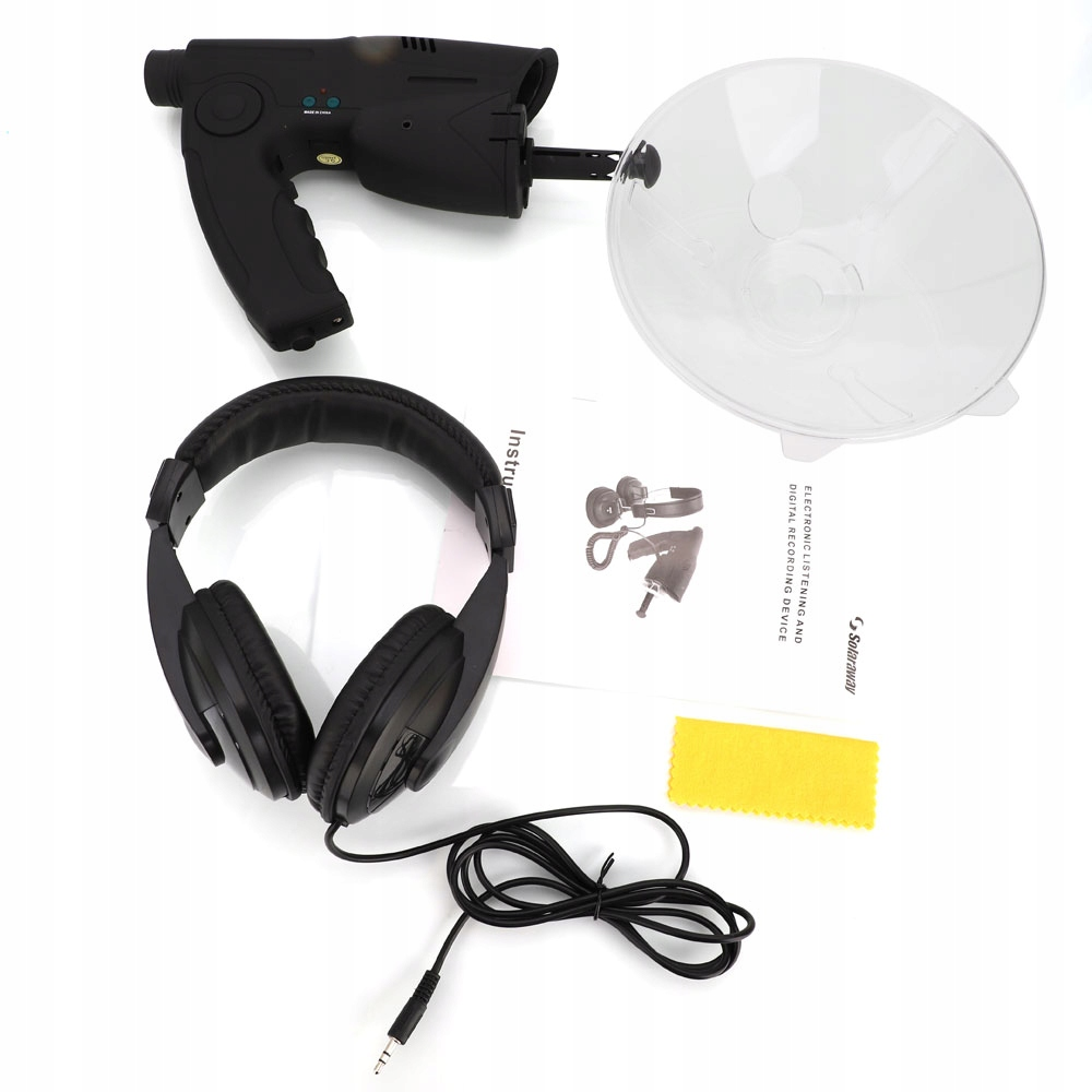 Item DIGITAL MICROPHONE DIRECTIONAL 120M SD RECORD MP3