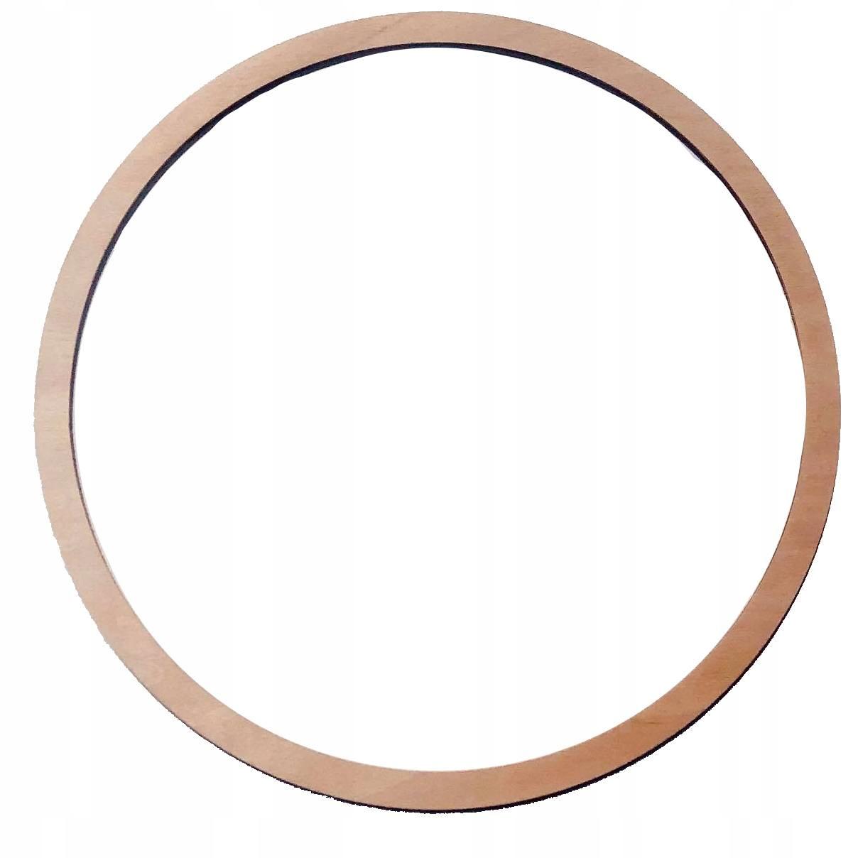 Drewniana obręcz kółko do łapacza snów 50 cm DIY