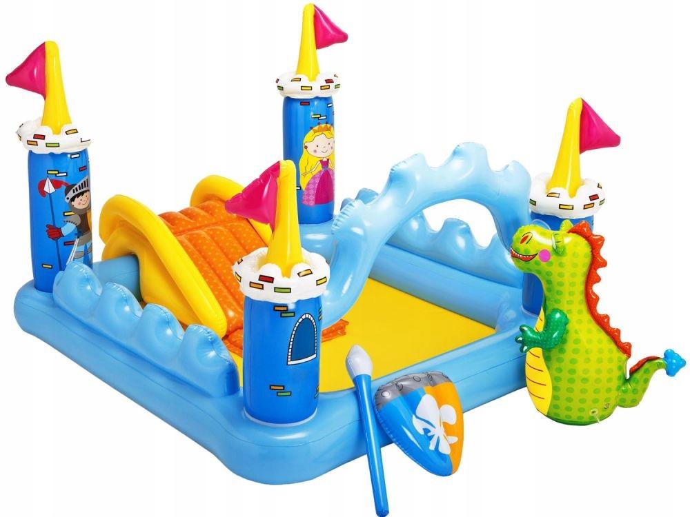 Бассейн Intex Fantasy Playground 57138 + Горка