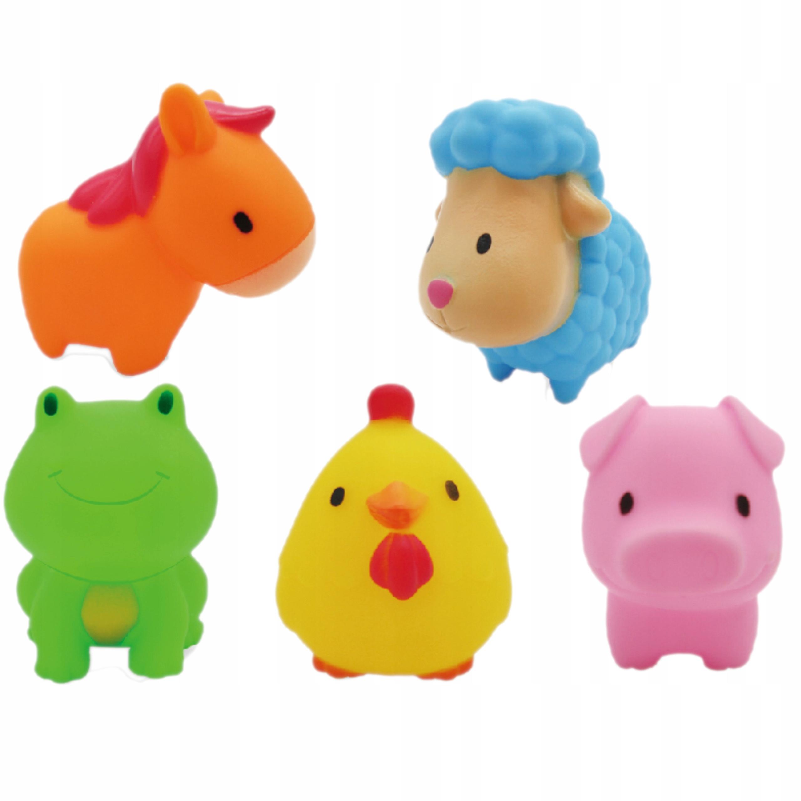 Gumowe zabawki zabawka do kąpieli FARMA 0012