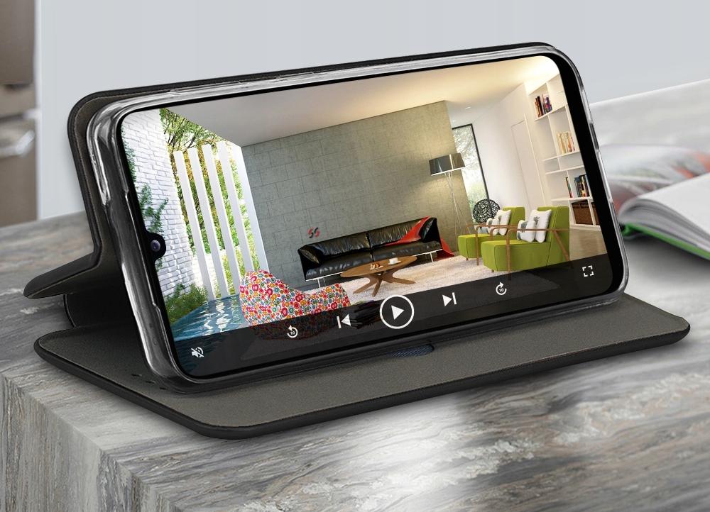Etui do Samsung Galaxy A32 5G Skórzane Case +Szkło Przeznaczenie Samsung