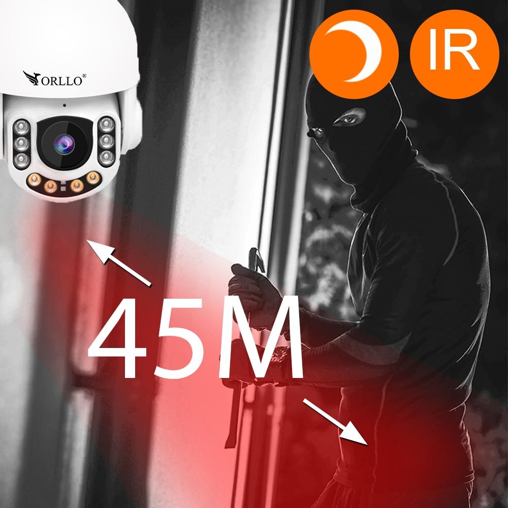 KAMERA OBROTOWA GSM SIM FHD PANEL SOLARNY ZESTAW Klasa szczelności kamery IP66