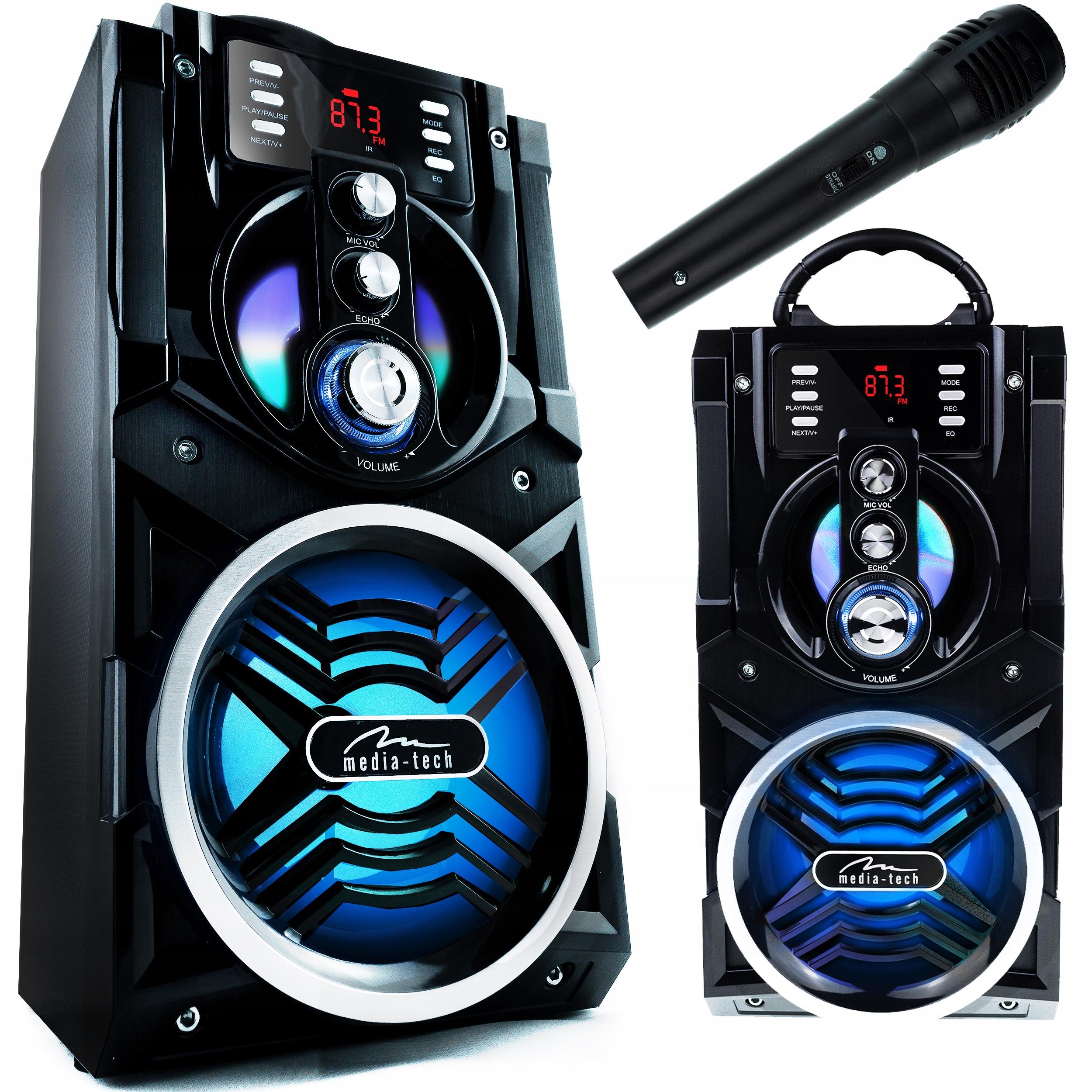 Динамик 800W Беспроводной Bluetooth Караоке Башня