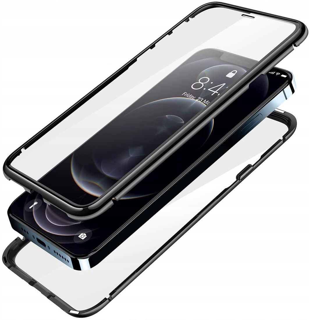 Etui Magnetyczne 360° do iPhone 12 Pro Max Producent Braders