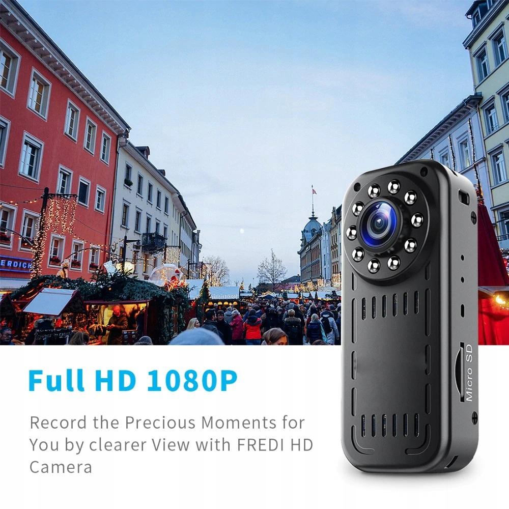 PROFESJONALNA Kamera POLICYJNA MONITORING osobisty Wbudowana pamięć 0 GB