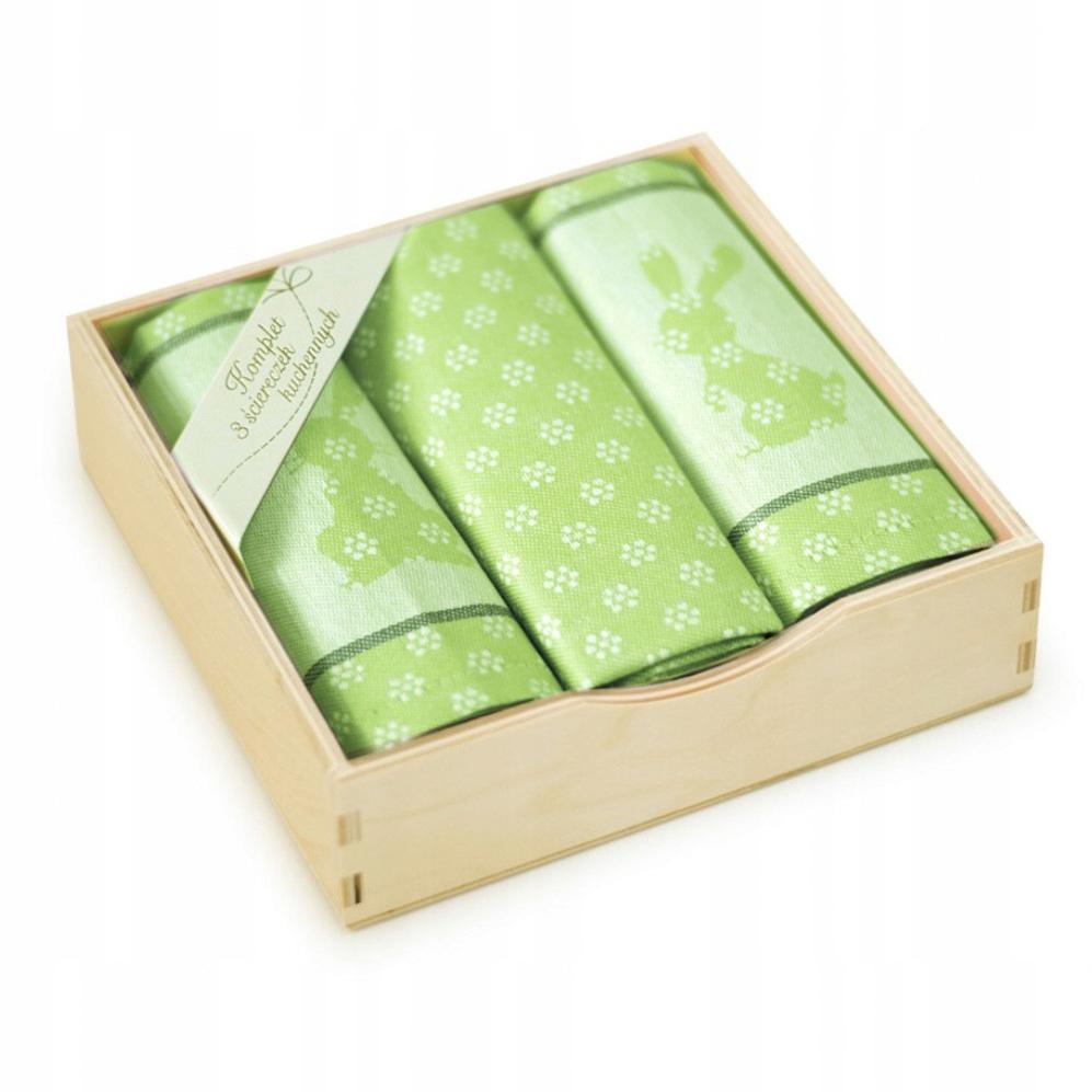 Набор салфеток в деревянной упаковке szaklimo