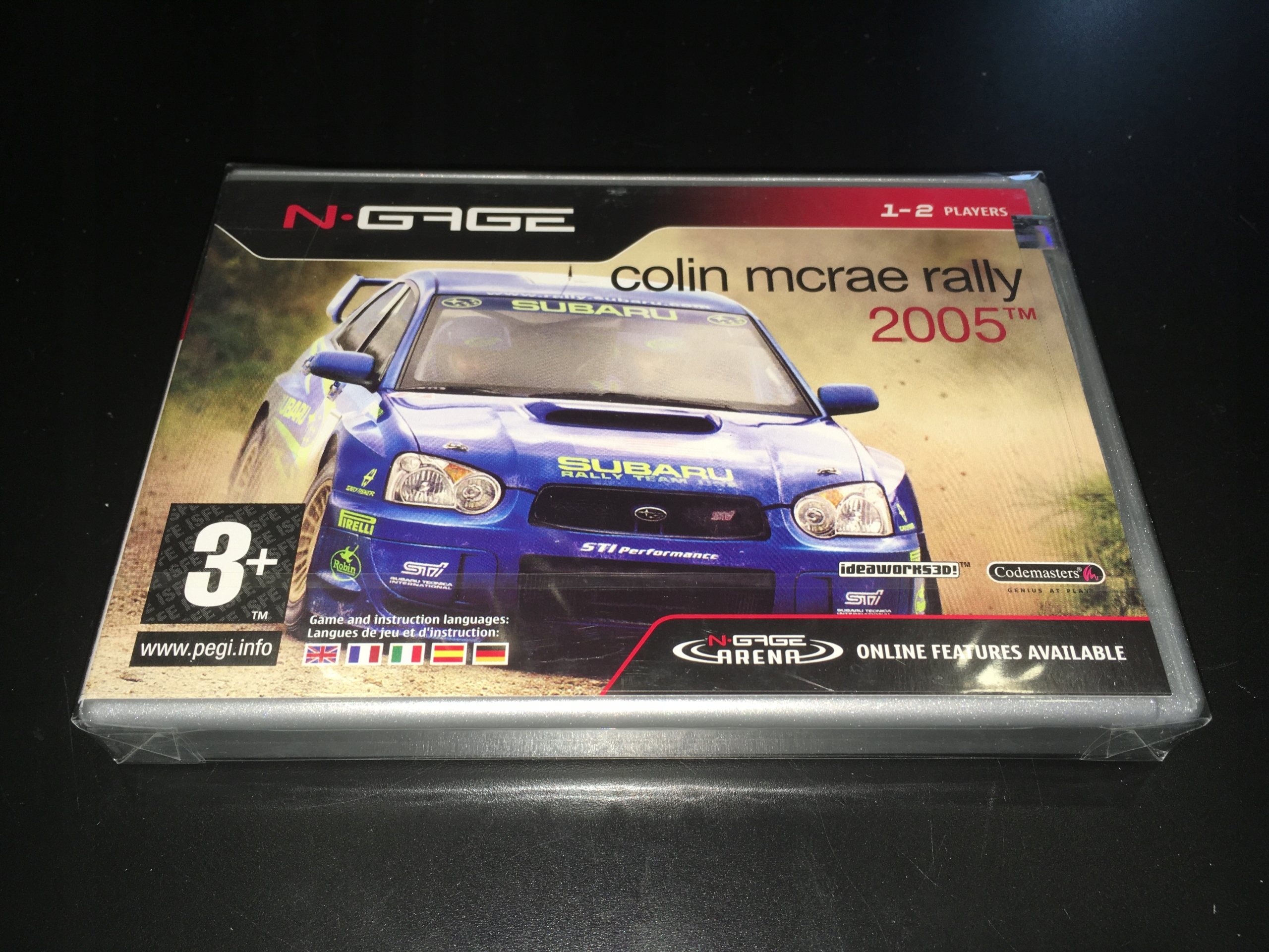 Colin Mcrae Rally 2005 / Nokia N-Gage