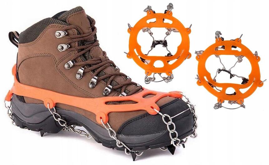 Скобы для обуви, цепи, шипы нескользящие р 38-45