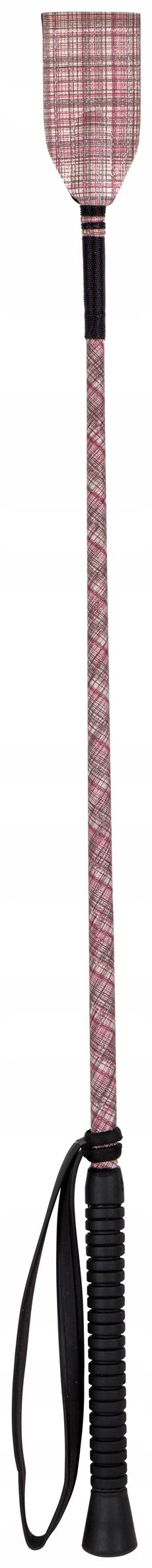 York Checky лодыжки палец 65 см розовый и черный