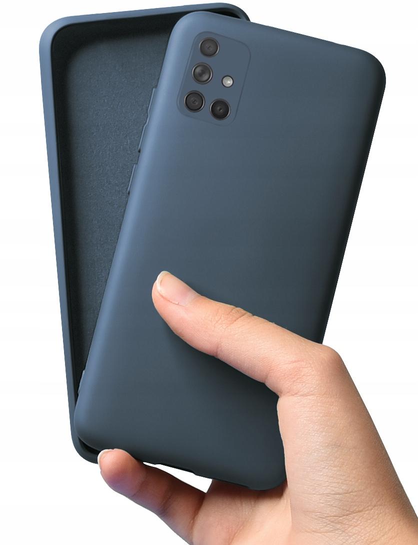 Etui Case Silicone + Szkło do Samsung Galaxy A71 Dedykowany model Galaxy A71