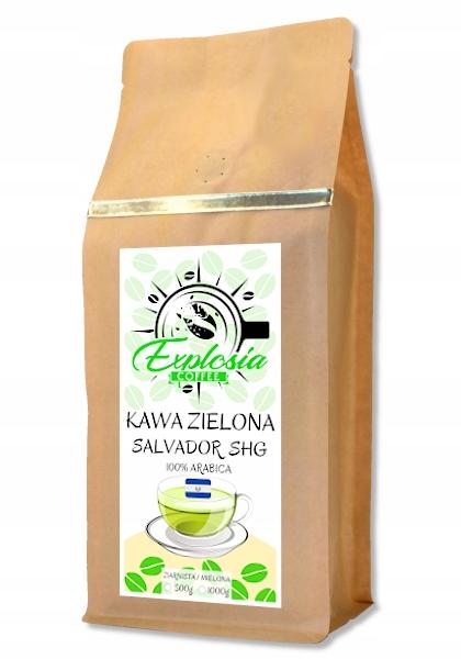 Натуральный кофе GREEN в зернах SALWADOR SHG 1кг