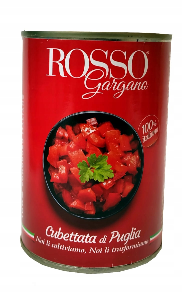 (DP) Pomidor 400G ROSSO GARGANO KOSTKA
