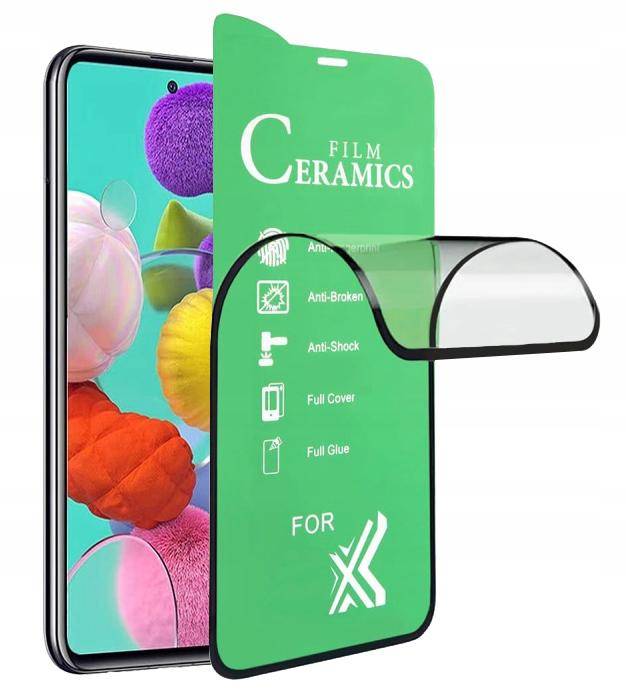 Szkło Hybrydowe cały ekran do Samsung Galaxy M51